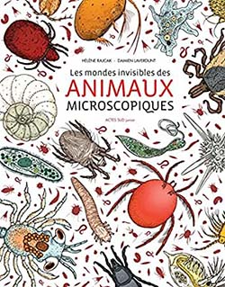 Couverture du livre sur les animaux microscopiques